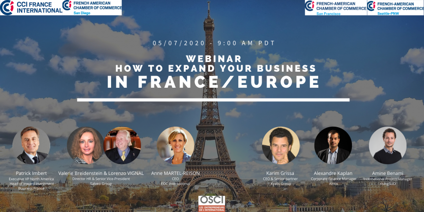 How to expand your business in France/Europe