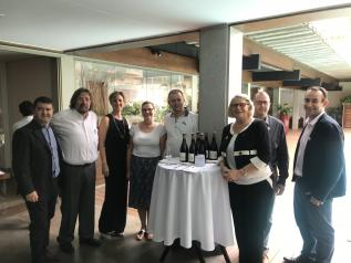 EOC International supported Club Crus Beaujolais in its conquest of the Brazilian market