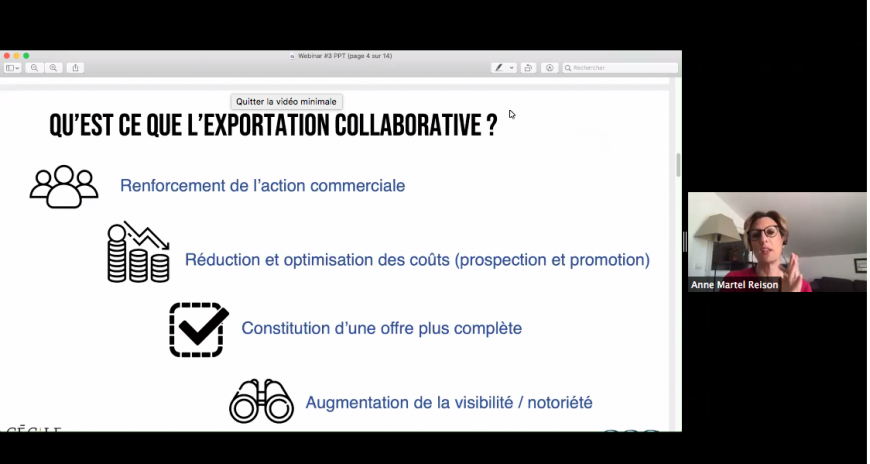 Webinar on Collaborative Export